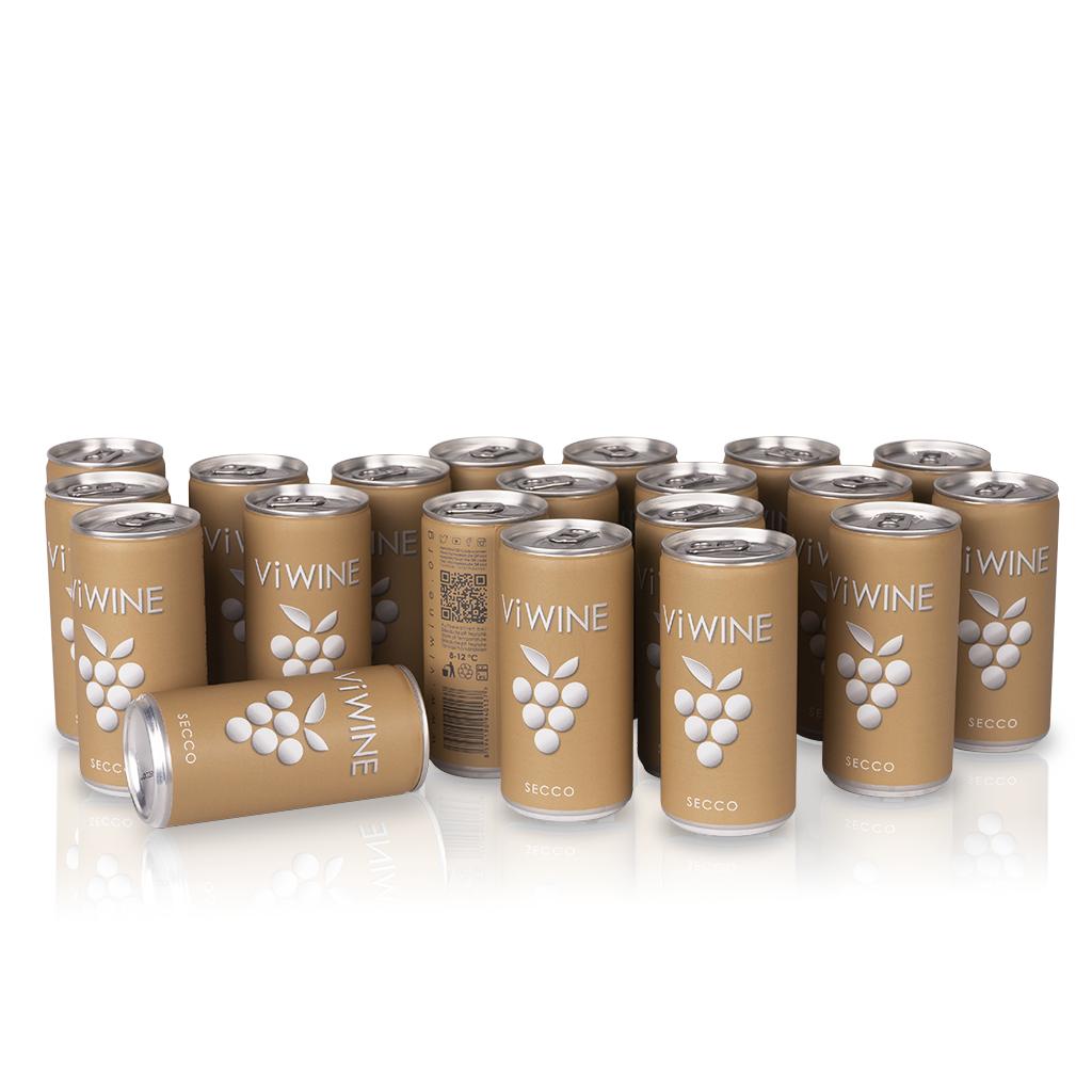 Vi WINE - Secco - 20 pack - Secco v plechovce