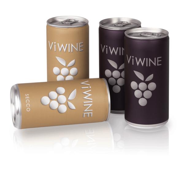 Vi WINE - Black & Secco - 4 pack - Víno v plechovce