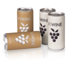 Vi WINE - Secco & White - 4 pack - Víno v plechovce