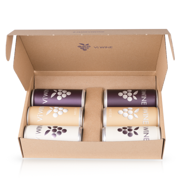 Vi WINE - Gift package M - Wine in a can