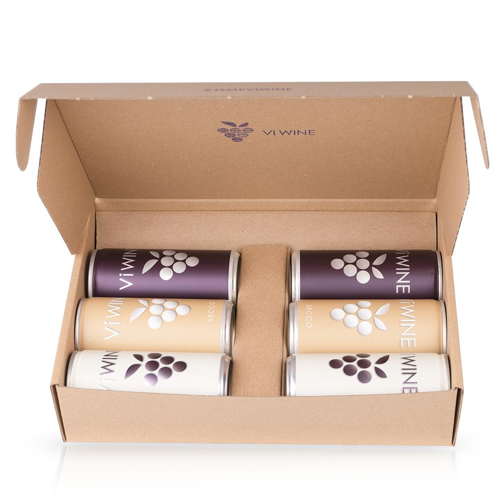 Vi WINE - Dárkový balíček M - Víno v plechovce